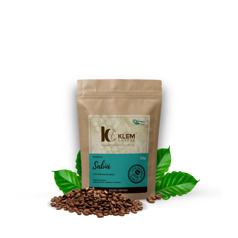Café Orgânico Sabiá Microlote Especial em Grãos - Klem Orgânicos 250g