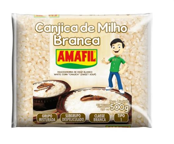 Canjica branca Amafil 500g