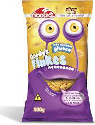 Cereal matinal flakes açúcarado Goodys 500g
