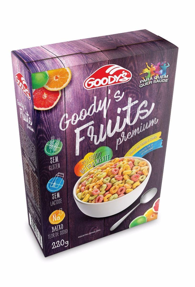 Cereal matinal fruits Goodys 220g