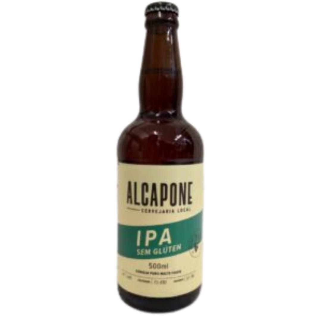 Cerveja sem glúten Alcapone ipa 500ml