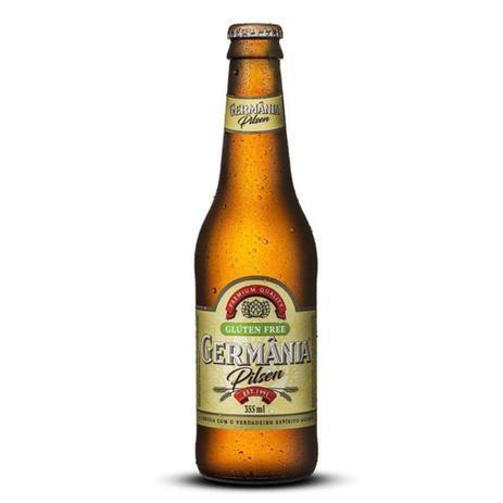 Cerveja sem glúten Germânia pilsen 355ml