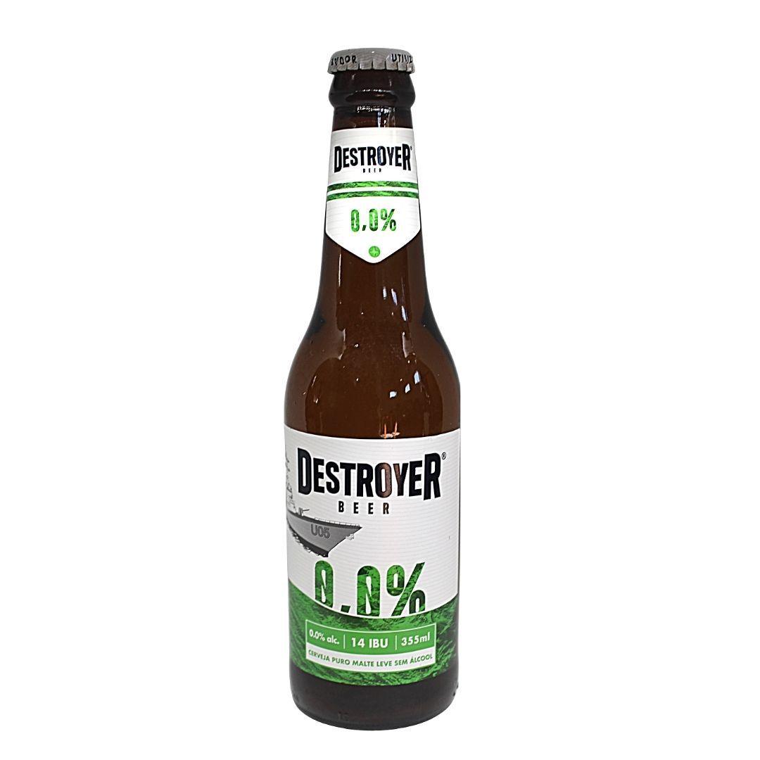 Cerveja Zero Álcool Puro Malte Destroyer 355ml