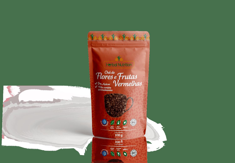 Chá de Flores e Frutas - Herbal Nutrition 100g