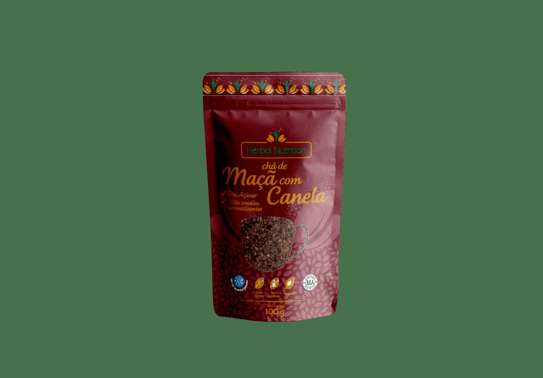 Chá de Maçã com Canela - Herbal Nutrition 100g