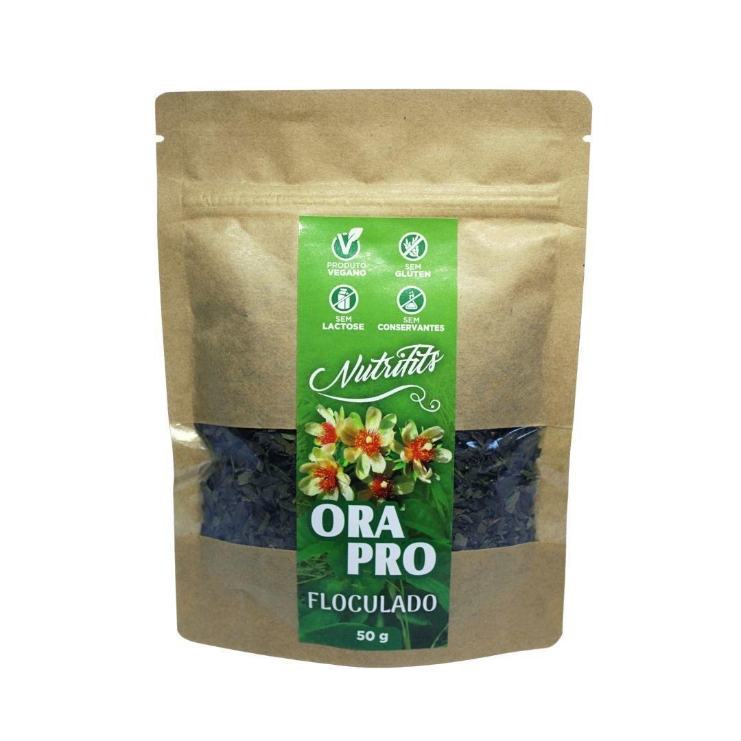 Chá de Ora-Pro-Nóbis Floculado de Folhas Nutrifits 100g