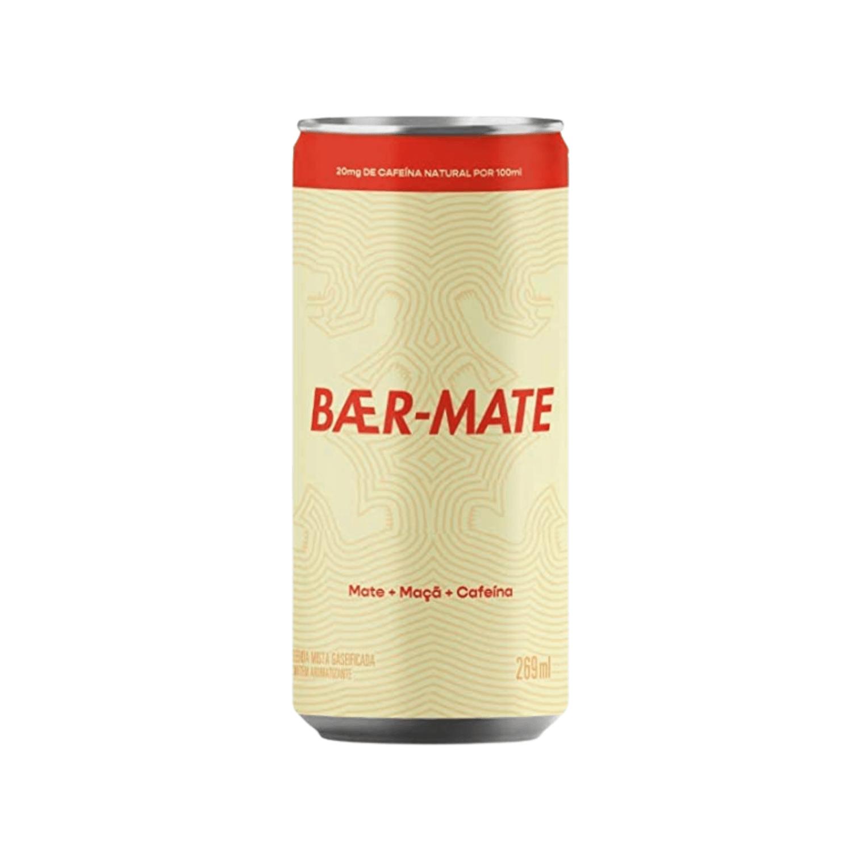 Chá Gaseificado Baer Mate Lata 269ml