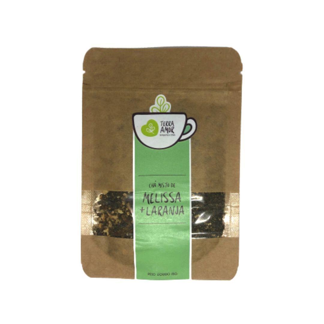 Chá Orgânico Melissa e Laranja - Terra Amor 15g