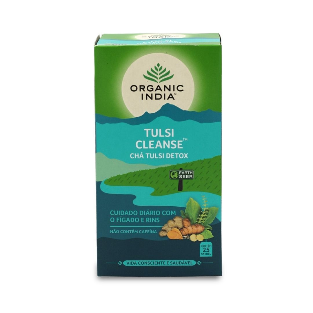 Chá Tulsi Cleanse Detox Cx 25 Sachês 45g