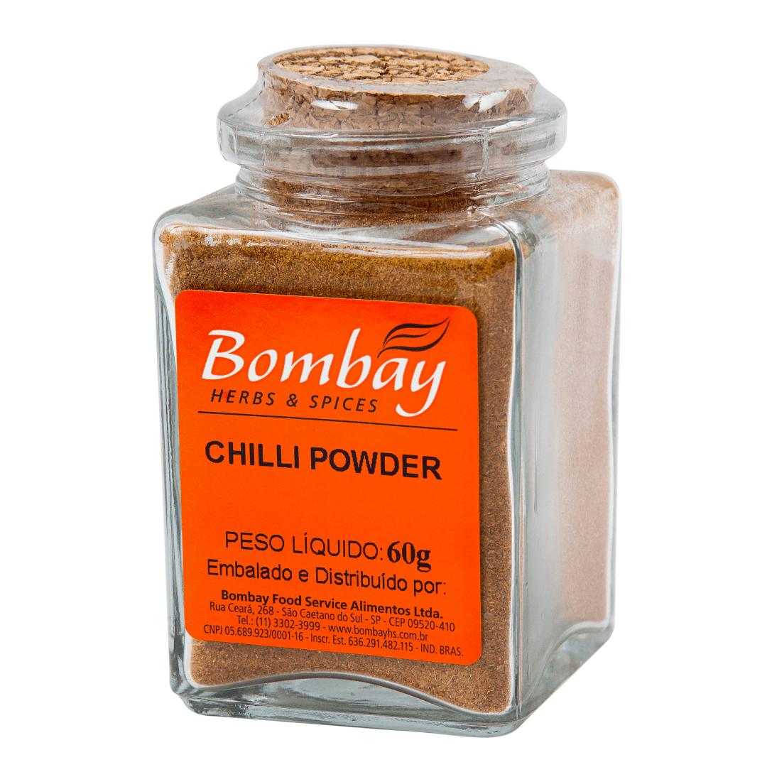 Chilli Powder Vidro Bombay 60g