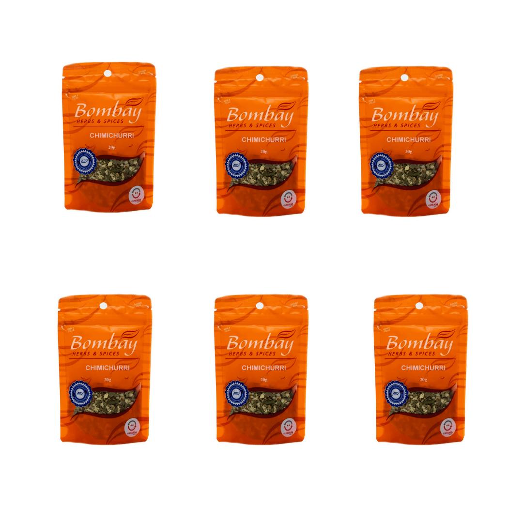 Chimichurri  Pouch 20g Bombay Kit com 6