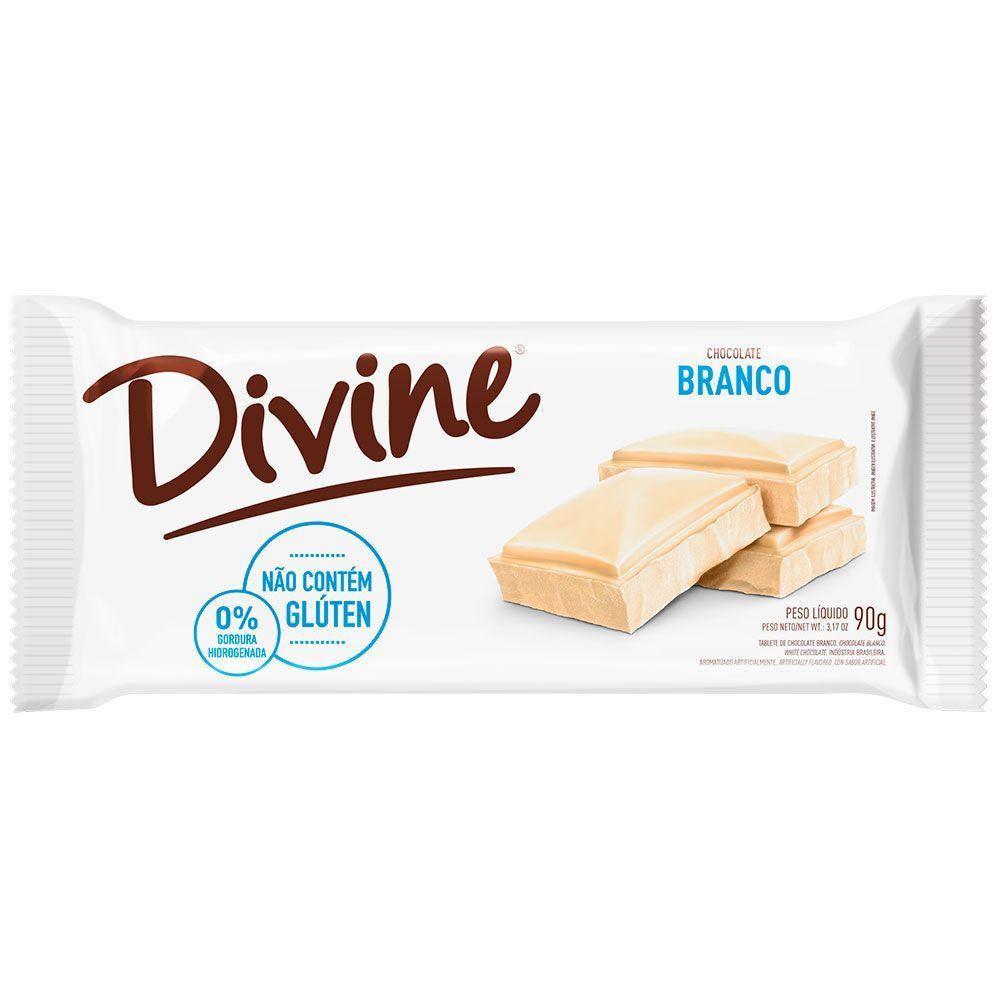 Chocolate branco Divine 90g
