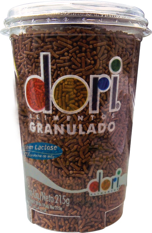 Chocolate granulado copo Dori 215g