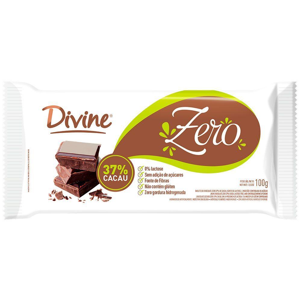 Chocolate zero Divine 100g