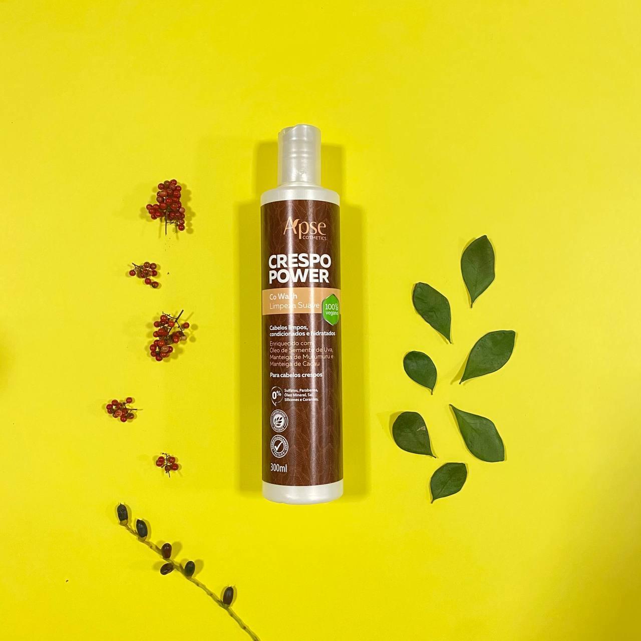 Co Wash Limpeza Suave Crespo Power - Apse Cosmetics 300ml
