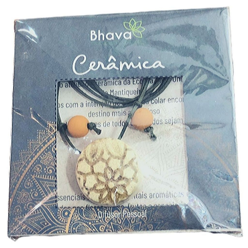 Colar de Aromaterapia Difusor Pessoal - Bhava