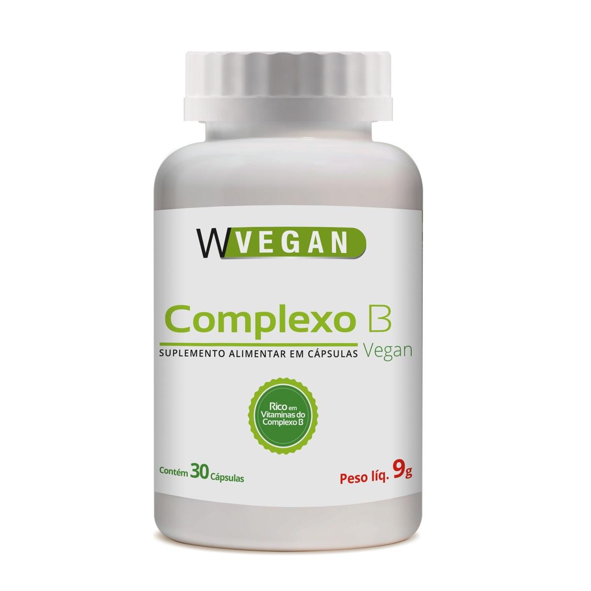 Complexo B 30 capsulas WVegan