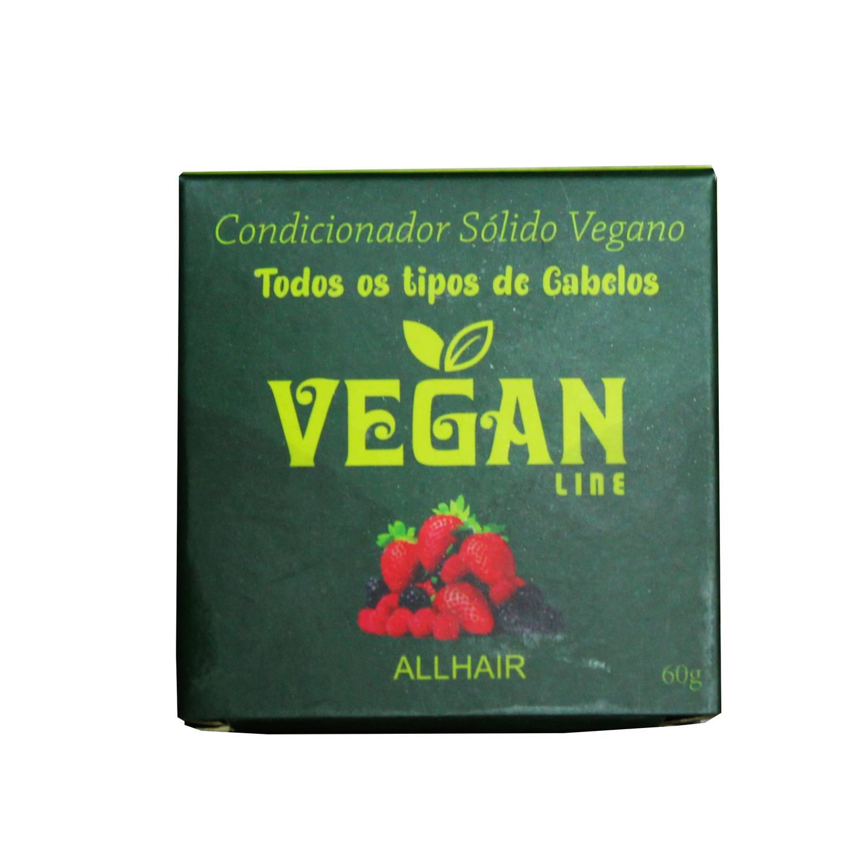 Condicionador Sólido Vegano Frutas Vermelhas Vegan Line 60g