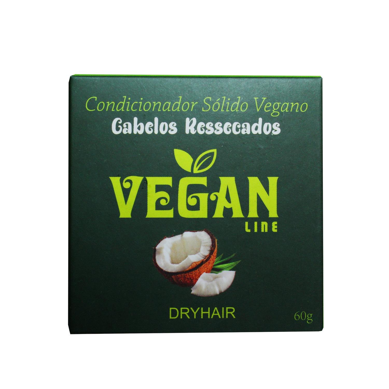 Condicionador Sólido Vegano Óleo de Coco Vegan Line 60g