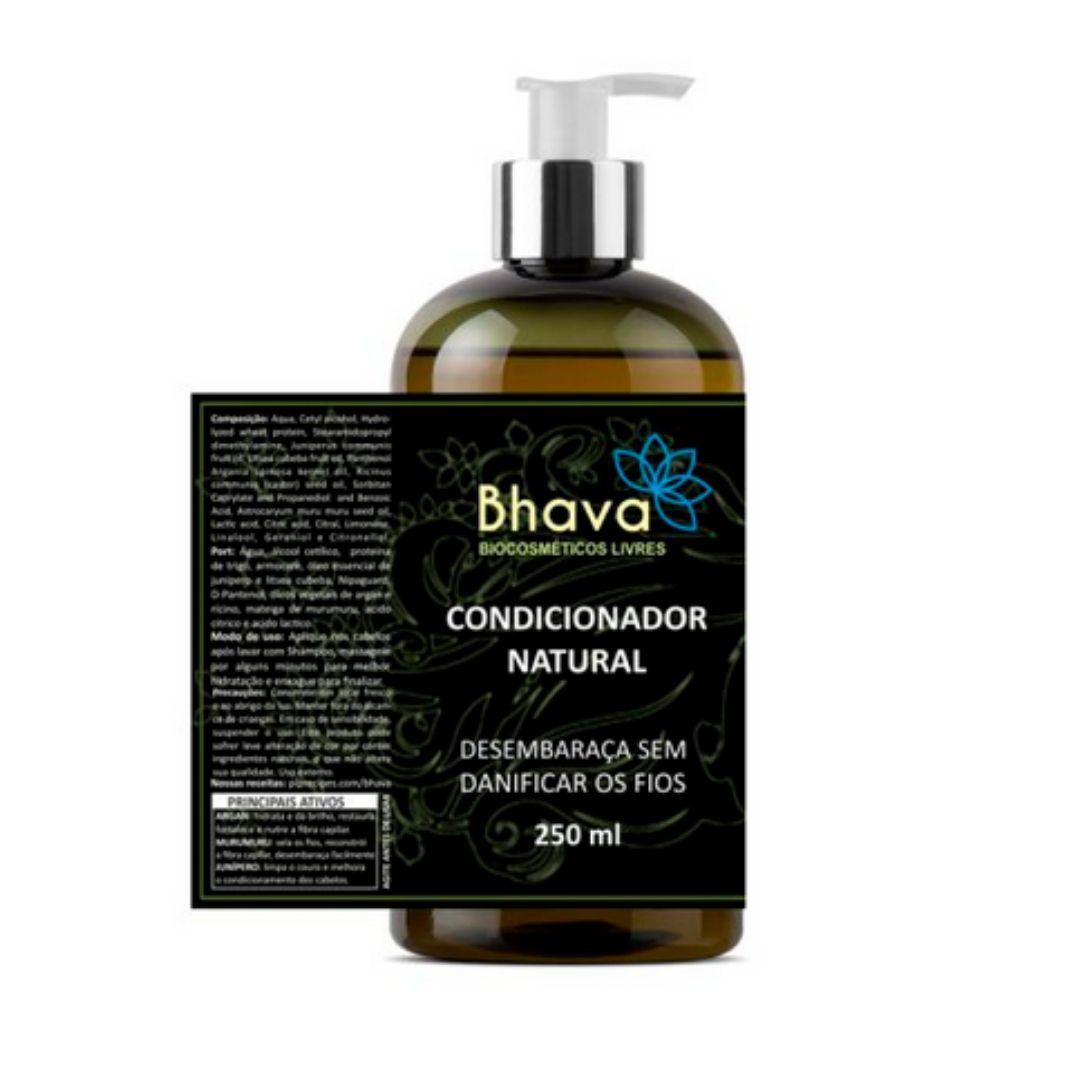 Condicionador Natural Para Cabelos Bhava 250ml
