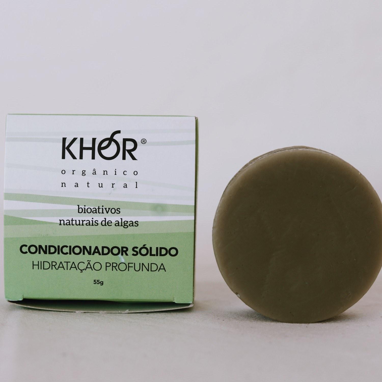 Condicionador Sólido Hidratação Profunda Khor