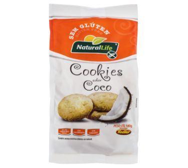 Cookies de Coco Natural Life 180g