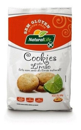 Cookies de Limão Natural Life 180g