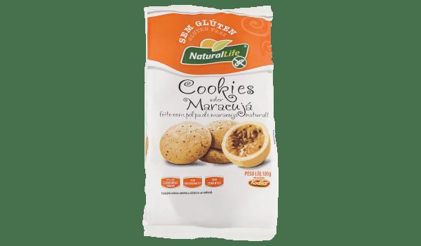 Cookies de maracujá Natural Life 180g