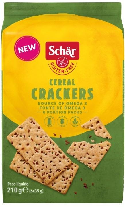 Crackers cereal seeds Dr. Schar 210g