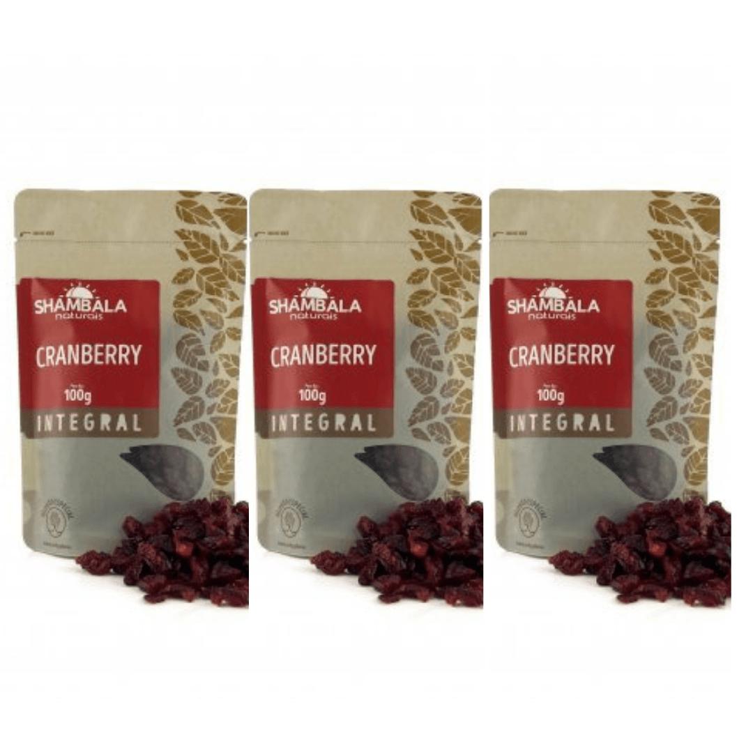 Cranberry Shambala 100g Kit com 3