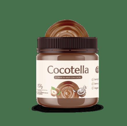 Creme de Avelã com Cacau Vegano Cocotella - Cocodensado 150g