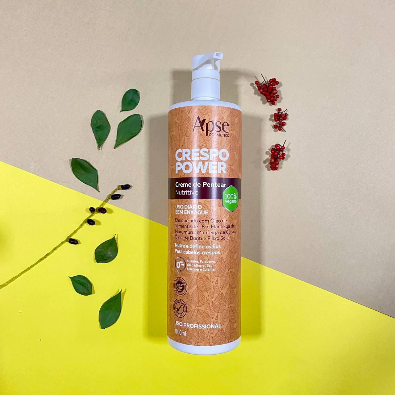 Creme de Pentear Nutritivo Crespo Power - Apse Cosmetics 1000ml