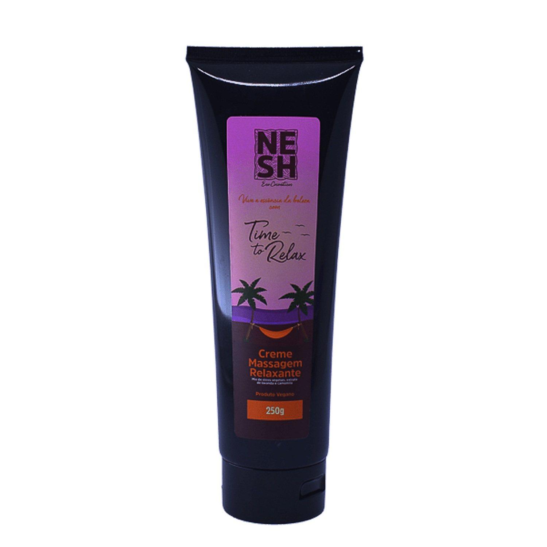 Creme Massagem Relaxante Time to Relax - Nesh Cosméticos 250g