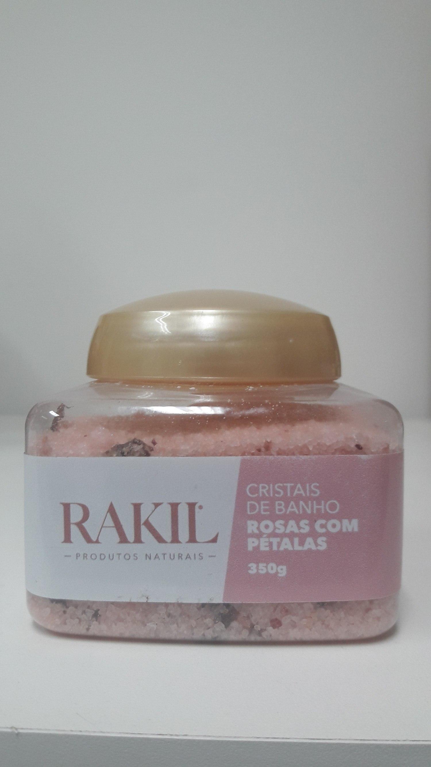 CRISTAIS DE BANHO ROSAS COM PÉTALAS 350 g