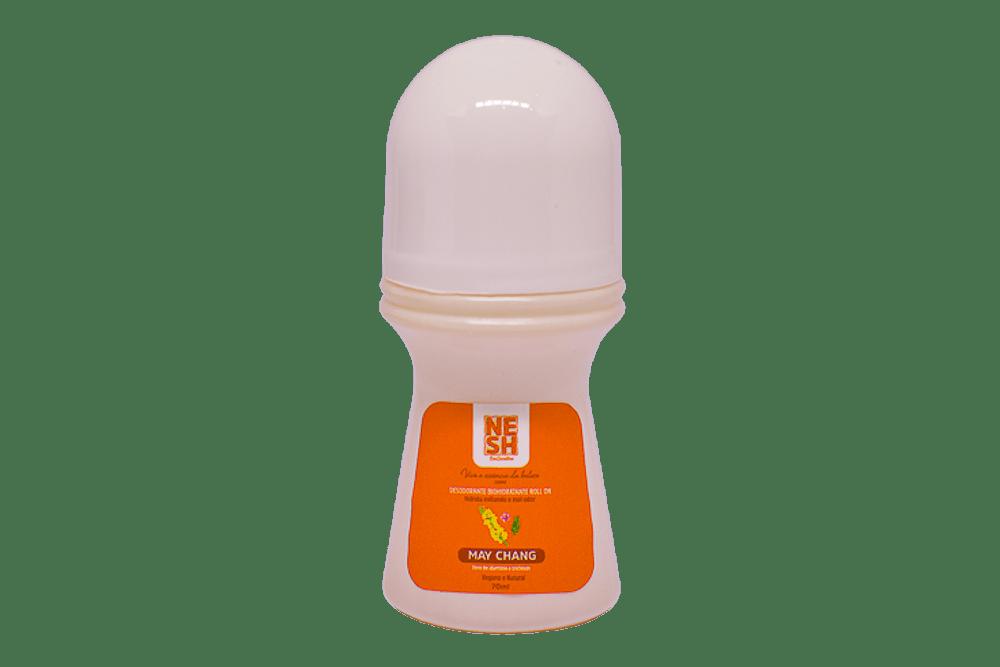 Desodorante Biohidratante Roll'on 100% Natural e Vegano - Nesh Cosméticos 70g