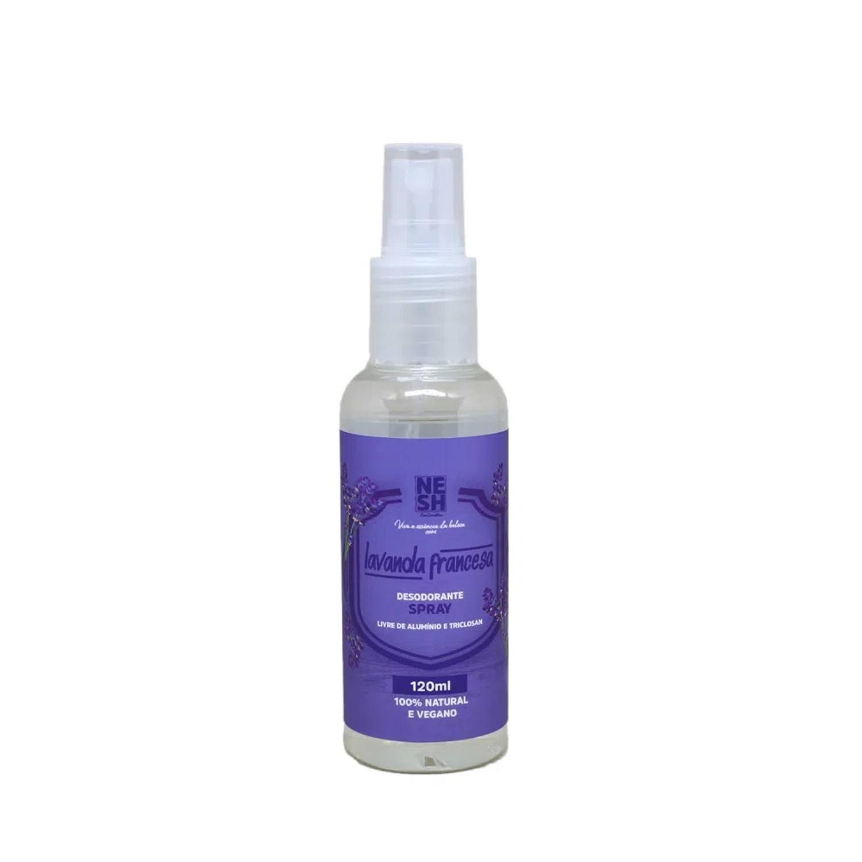 Desodorante em Spray 100% Natural Lavanda - Nesh Cosméticos 120 ml