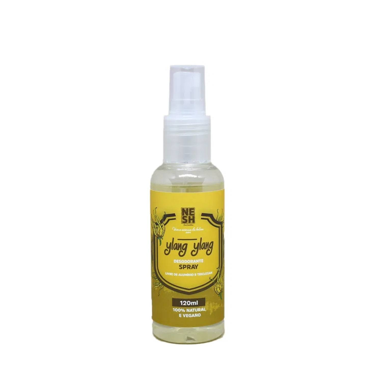 Desodorante em Spray 100% Natural Ylang Ylang - Nesh Cosméticos 120ml