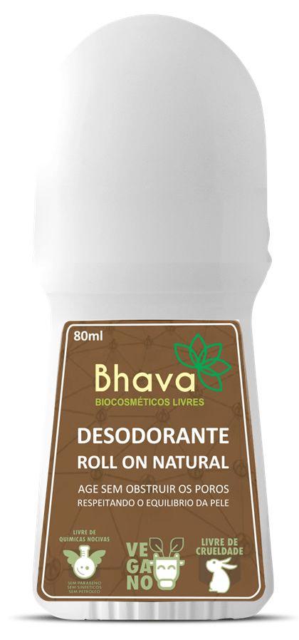 Desodorante natural roll on 80ml