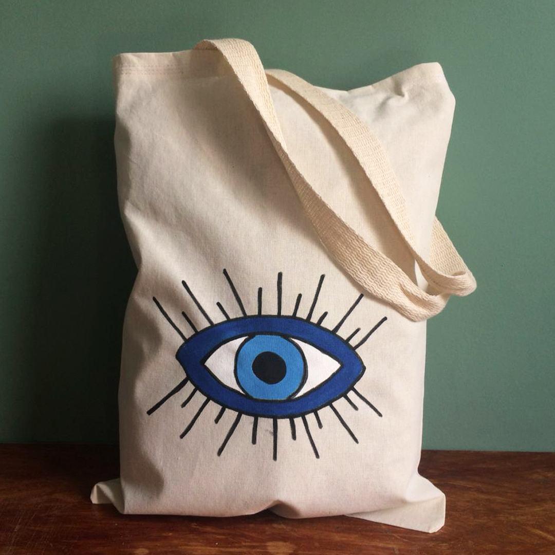 Ecobag da Sorte Olho Grego