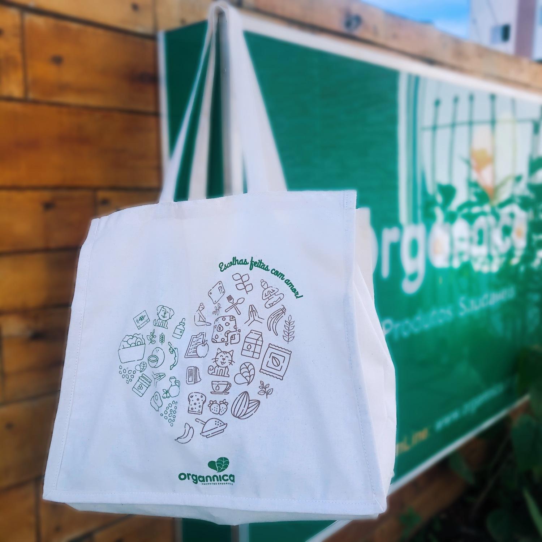 Ecobag Escolhas Feitas com Amor Organnica
