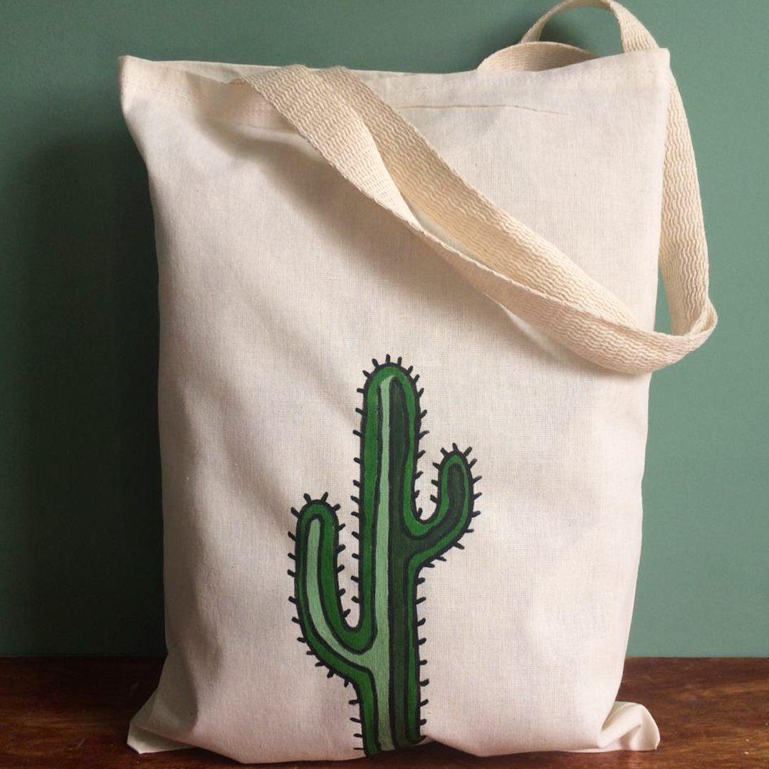Ecobag Meu Cactus