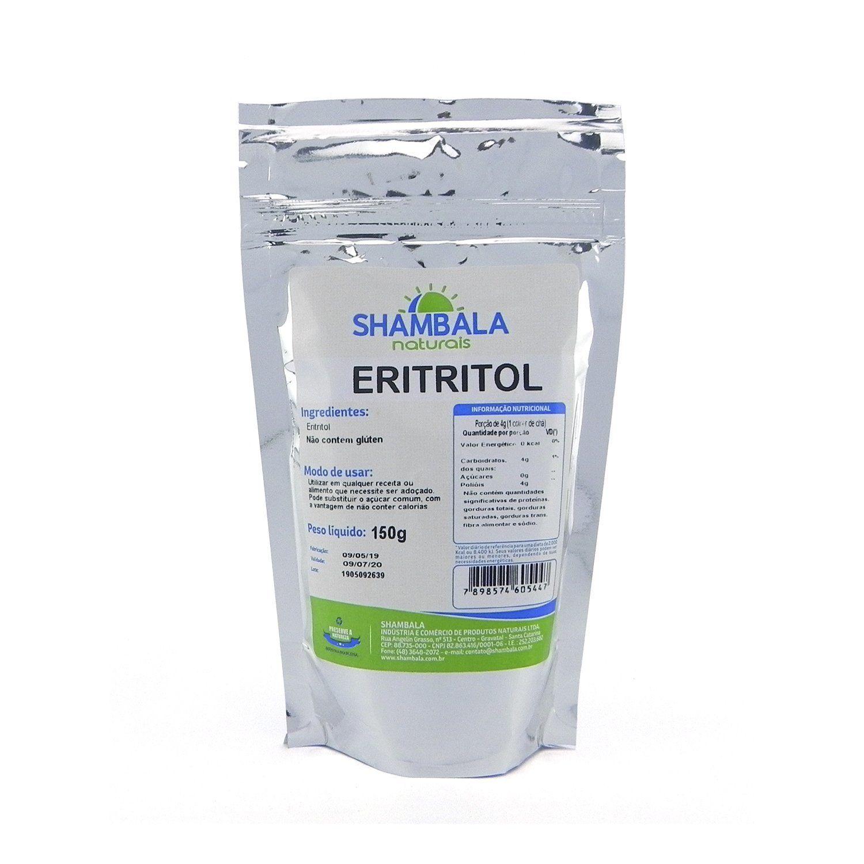 Eritritol em pó Shambala 150g