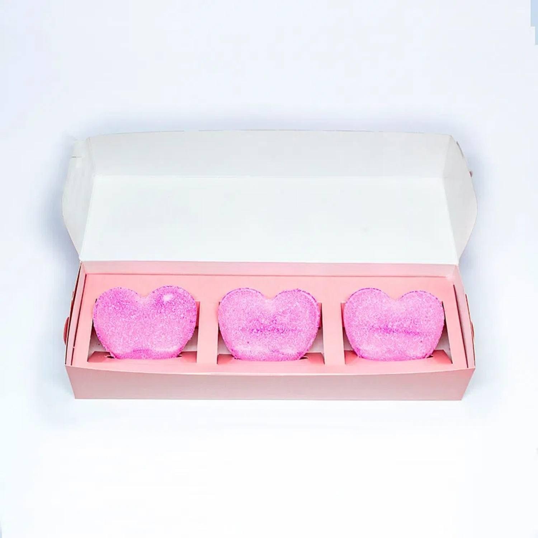 Escalda Pés do Amor (Bomba de Banho) SPA - Nesh Cosméticos 60g (3 unidades)
