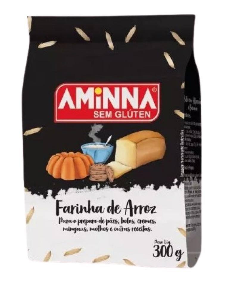 Farinha de arroz Aminna 300g