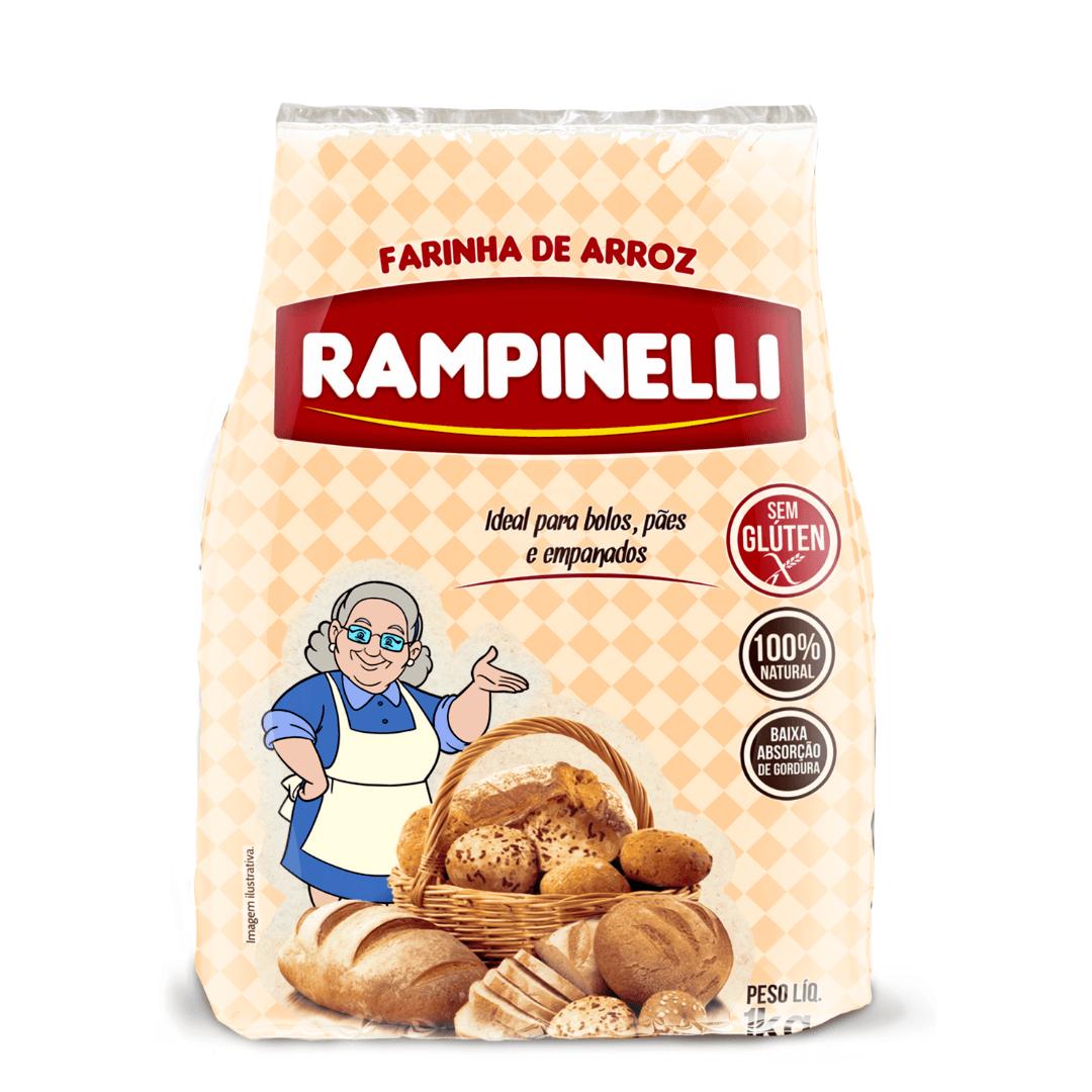 Farinha de Arroz Polido Rampinelli - 1Kg
