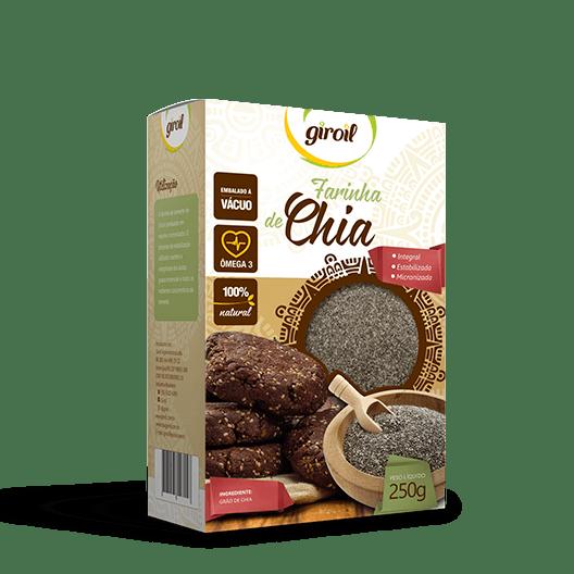 Farinha de Chia Integral Estabilizada Giroil – 250g