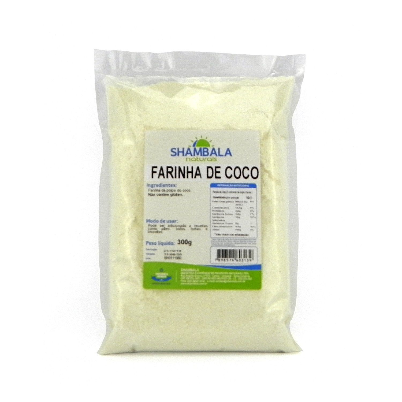 Farinha de Coco Shambala 300g