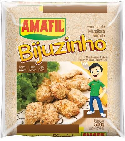 Farinha de mandioca bijuzinho Amafil 500g