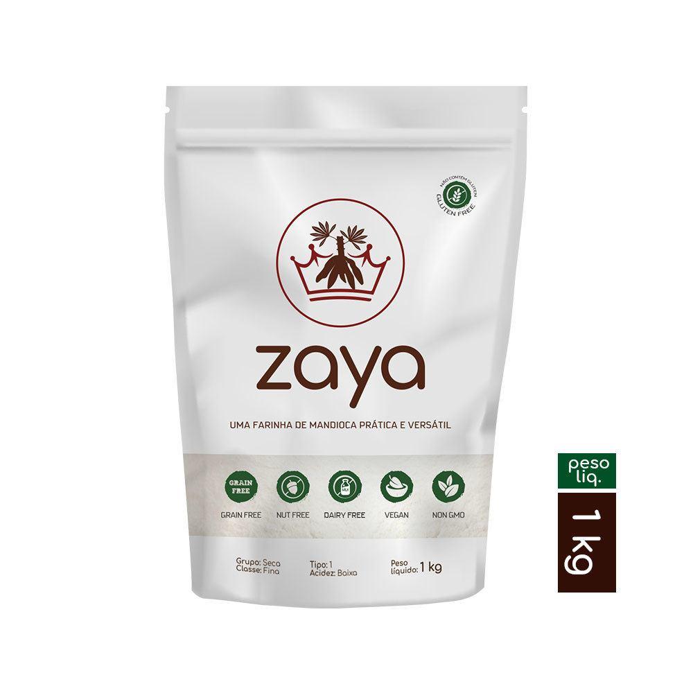 Farinha de mandioca tipo 1 Zaya 1kg