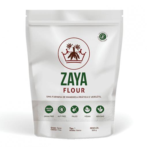 Farinha de mandioca tipo 1 Zaya 500g